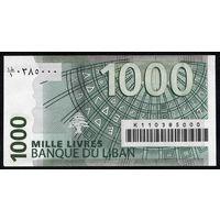 Ливан 1000 ливров г.  UNC   распродажа