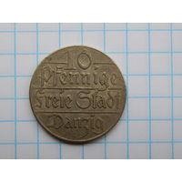 10 пфеннигов 1923 Данциг (Гданьск)