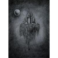 Авторский рисунок карандашом на ватмане. Размер А3