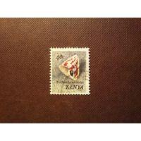 Кения 1971 г.Моллюск -трочус фламмулатус.