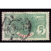 1 марка 1906 год Сенегал 33