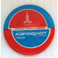 Олимпийские игры 1980 г. Аэрофлот - официальный олимпийский перевозчик