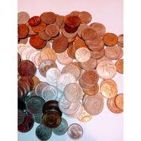 1 килограмм монет Европы. 2 .