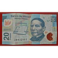 Мексика, 20 песо, 2010 г., VF