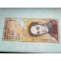 100 боливаров Венесуэла 2009