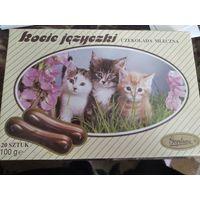 Коробка от конфет пустая Польша 1992г
