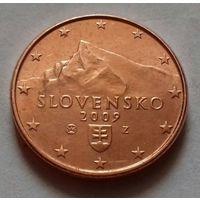 5 евроцентов, Словакия 2009 г., AU