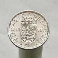 Великобритания 1 шиллинг 1966