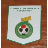 Вымпел  Федерация футбола Литвы (картонный)