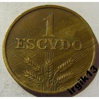 1 эскудо 1974 год Португалия