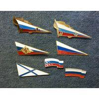 Знаки на берет (кокарды) России
