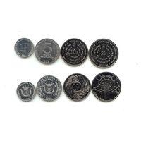 Бурунди набор 4 монеты 1980-2011 UNC