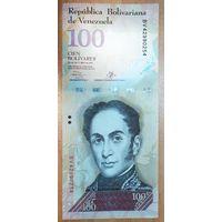 100 боливаров 2013 года - Венесуэла - UNC