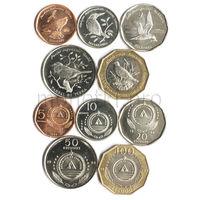 Кабо-Верде 5 монет 1994 года. Птицы