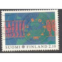 Финляндия Европа-Септ 1991 космос
