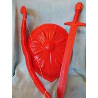 Щит, меч, лук - игрушка СССР