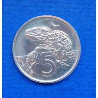 Новая Зеландия 5 центов 1982 Состояние