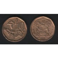 Южная Африка (ЮАР) km135 10 центов 1993 год (b06)