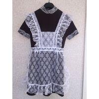 Школьная форма СССР школьное платье с передником советское