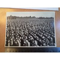 Фото. Парад штурмовиков. Нюрнберг, 1933 г.