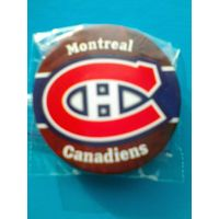 "Значок с Логотипом Хоккейного Клуба НХЛ - ""Монреаль Канадиенс""."