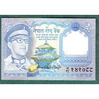 НЕПАЛ  1 рупия  1974 год  UNC