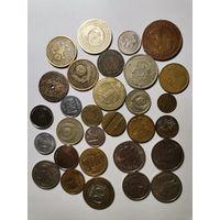 Монеты разных стран 30 шт