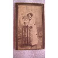 """Фото начало прошлого века """"Дама в шляпе"""" .   распродажа"""