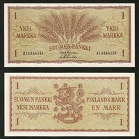 Финляндия. 1 марка обр.1963 [P98](UNC)