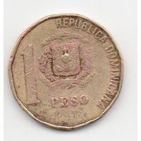 1 песо 1992 Доминиканская Республика