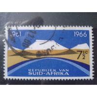 Южная Африка 1966 5 лет республике, концевая