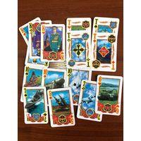 Карты игральные КОМАНДИРСКИЕ, подарочные, 1997