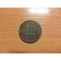 Нидерланды 10 центов 1941 г.