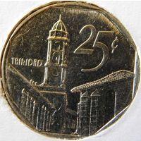 Куба 25 сентавос 1994 год