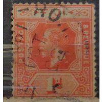 Король Георг V. Фиджи. Колония. Дата выпуска: 1922