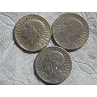 2 злота 3 шт. 1933 г.