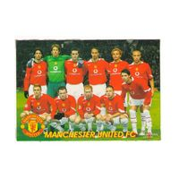 Футбольная карточка Фк Манчестер Юнайтед