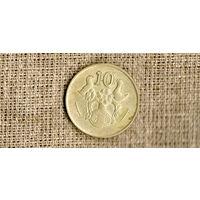Кипр 10 центов 1992 /фауна//(ON)