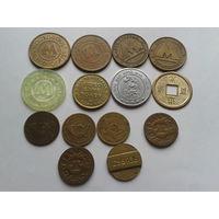 Набор жетонов 14 штук