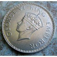 Британская Индия. 1 рупия 1940 г.