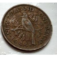 Новая Зеландия 1 пенни, 1944  2-3-27