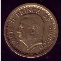 1 Франк 1945 год Монако