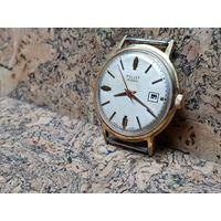 Часы Poljot de luxe,au20,автоподзавод,редкий циферблат.Старт с рубля.