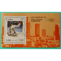 Куба. Спорт. ( Блок ) 1983 года.