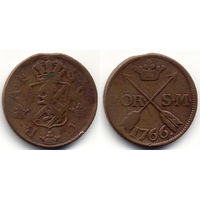 2 эре 1766, Швеция, Адольф Фредрик