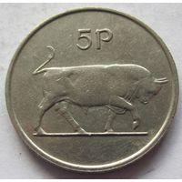 Ирландия 5 пенсов 1982