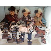 Кукла винтажная большая Kasma 70 см.