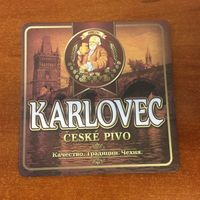 Подставка под пиво Karlovec No 2