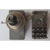 Тиристор КУ202Н на радиаторе + радиатор