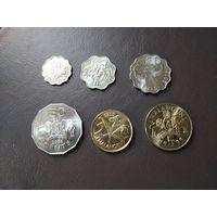 Свазиленд набор 6 монет 1999-2008 UNC